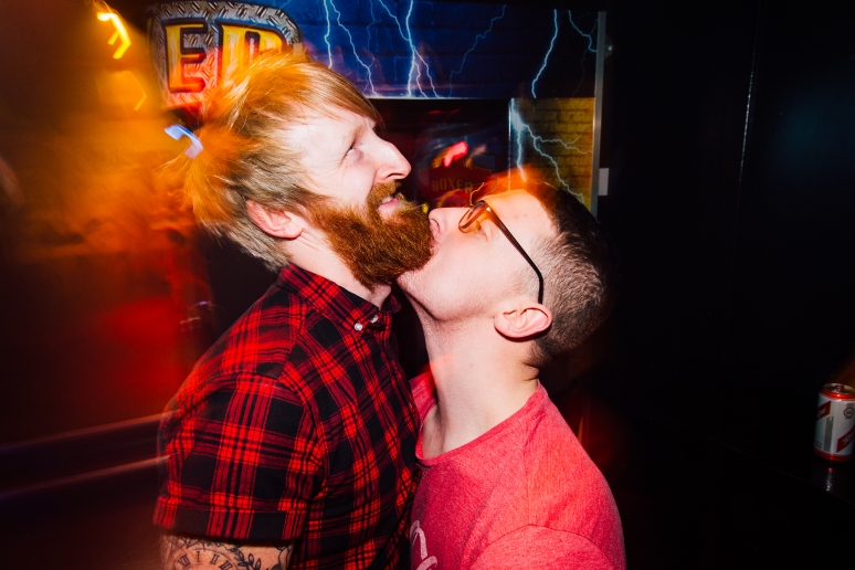 Glasgow Nightlife in Cathouse Rock Club with Satan Claus by Party Photographer Lee Jones
