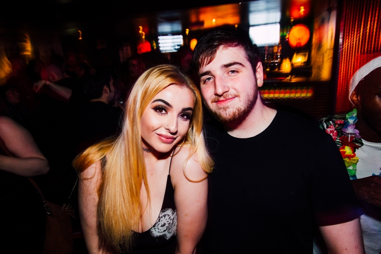 Glasgow Nightlife in Cathouse Rock Club with Daniel P Carter by Party Photographer Lee Jones