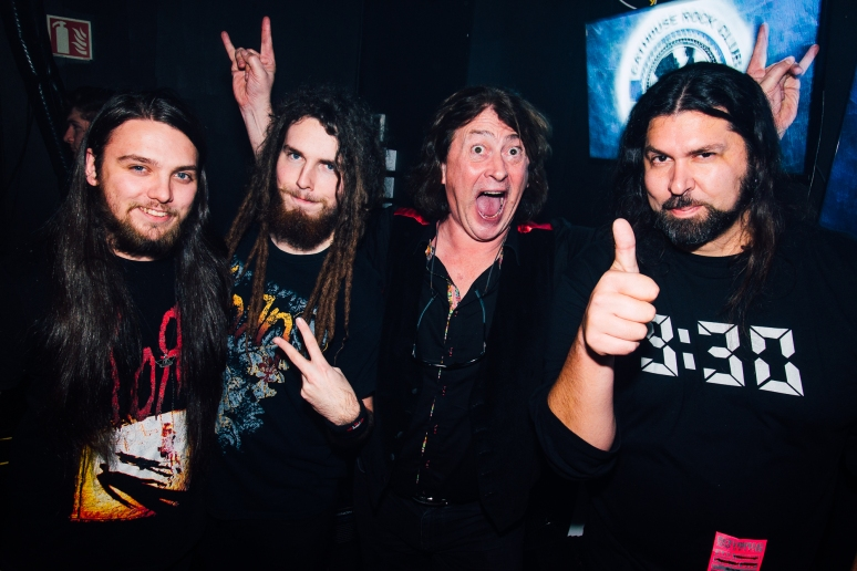 Glasgow Nightlife in Cathouse Rock Club with Alexander Milas and Black Stone Cherry by Party Photographer Lee Jones