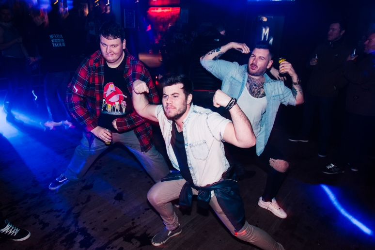 Glasgow Nightlife at Cathouse Rock Club ICW After Party by Party Photographer Lee Jones