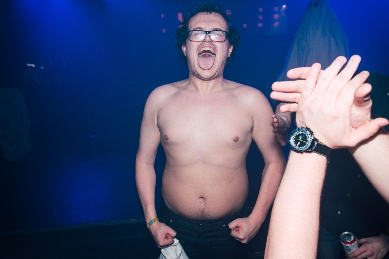 Glasgow nightlife over Halloween at Cathouse Rock Club by Party Photographer Lee Jones