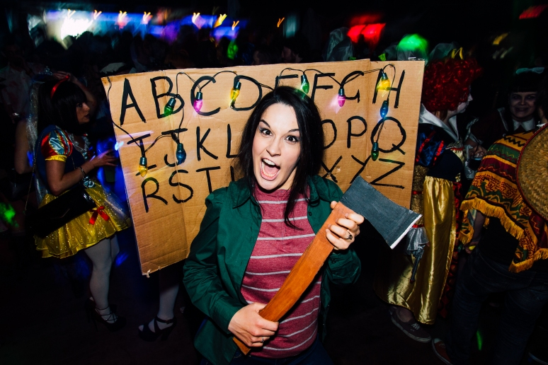 Glasgow Nightlife over Halloween in Cathouse Rock Club by Party Photographer Lee Jones