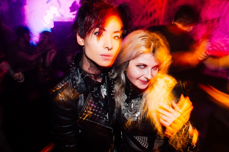 Glasgow nightlife at Cathouse Rock Club's Power Rangers Party by Party Photographer Lee Jones